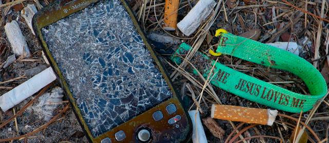 La corta vida de los teléfonos inteligentes tiene un impacto devastador en la naturaleza